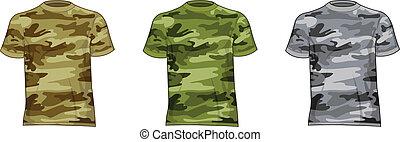 Männer Militärhemden