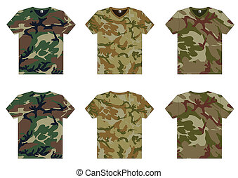 Männer militärische T-Shirts v-neck