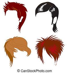 Männer mit Haaren