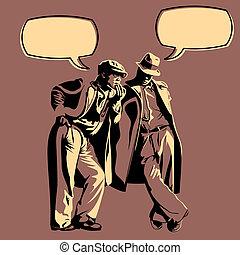 Männerdiskussion