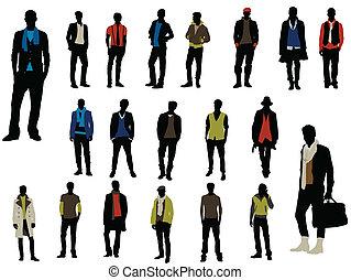 Männliche Mode