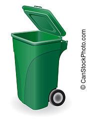 Müll kann veranschaulichen.