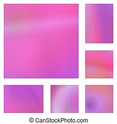 Magenta abstraktes Hintergrunddesign eingestellt.