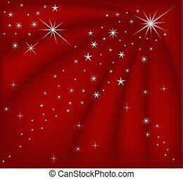 Magische rote Weihnachten