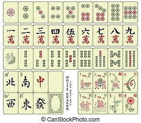 Mahjong Fliesen