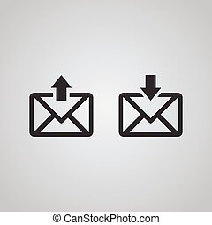 Mail Icon, Posteingang.