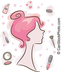 Make-up-Elemente