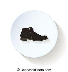 Man-Schuhe-Symbol.