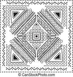 Mandala Design Illustrationsvektor.