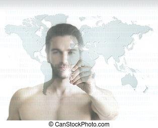 Mann der Welt