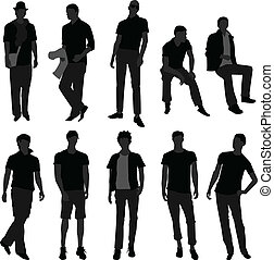 Mann-Männer-Modelshop-Modell