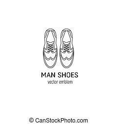 Mann-Schuh-Logo