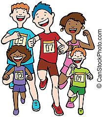 Marathon-Kinderrennen