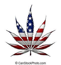 Marihuana in den USA.