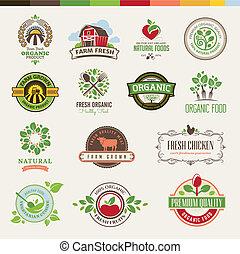 Marken für organisches Essen