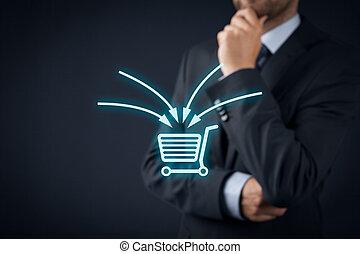 marketing, e-commerz