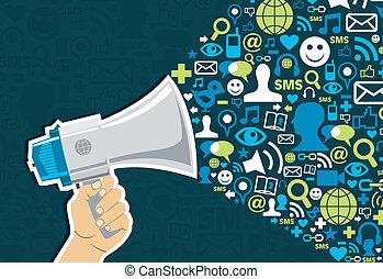 Marketing für soziale Medien