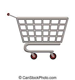 Marktwagen-Ikone