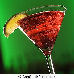 Martini-Mischgetränk.