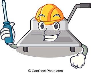 maschine, kraftfahrtechnisch, bindung, zeichen