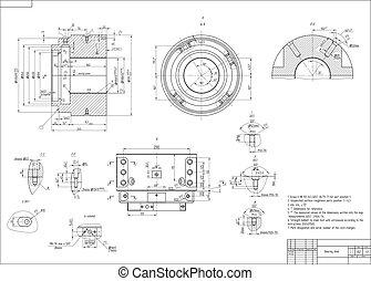 Maschinenbauzeichnung