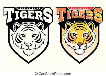 Maskottchen Tiger.