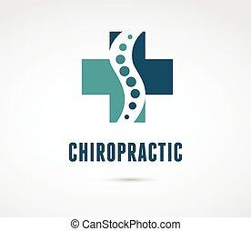 massage, schmerz, zurück, osteopathie, ikone, chiropraktik