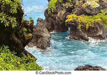 Maui Rugby Küste.