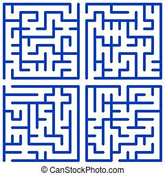 Maze Set.