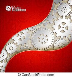 Mechanisches Getriebe.