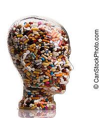 Medikamente und Tabletten zur Heilung von Krankheiten