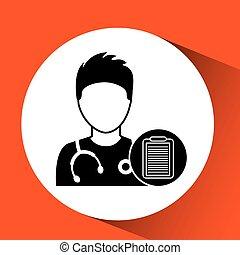medikation, charatcer, kapsel, design, krankenschwester, pille