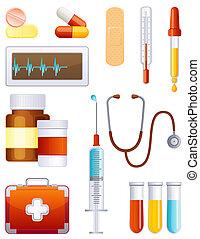 Medizin-Icon-Set