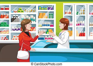 Medizin in der Apotheke kaufen