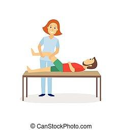 medizin, therapie, rehabilitation, physisch