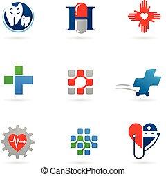 Medizin und Gesundheits-Ikonen