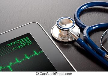 Medizin und neue Technologie.