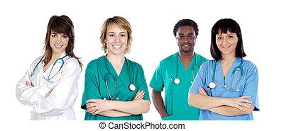 medizinische mannschaft