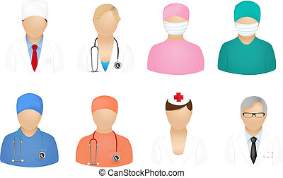 Medizinische Menschen-Ikonen