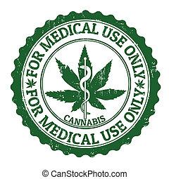 Medizinischer Marihuana-Stempel