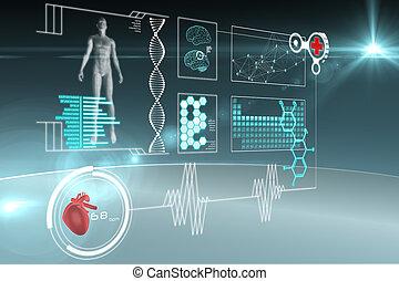 Medizinisches Interface.