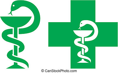 Medizinisches Kreuzssymbol