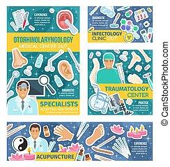 medizinprodukt, akupunktur, infectology, traumatology