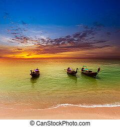 Meereslandschaft Hintergrund