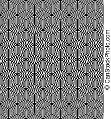 Meereslose geometrische Struktur.