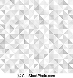 Meeresloses graues geometrisches Muster