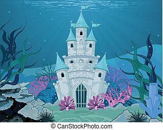 Meerjungfrauen-Schloss