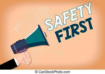 meisten, first., sicherheit, hand, ausstellung, sein, schreibende, text, gebraucht, sicher, analyse, besitz, mann, hu, begrifflich, sache, foto, geschaeftswelt, halftone, megaphon, sagen, wichtig, pattern.
