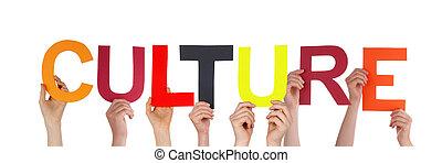 Menschen mit Kultur.