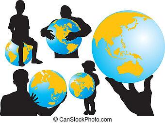 Menschen und Welt